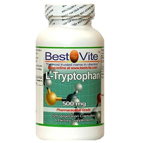 L-tryptophane 500 mg (120 capsules