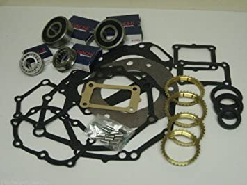 Ax5 5 Speed Manual Transmission Rebuild Kit With Synchros Fits 25l