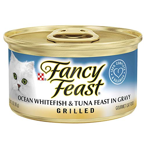 Fancy Feast Grilled Ocean Whitefish & Tuna Feast in Gravy Go