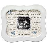 The Grandparent Gift Little Grandbaby Ultrasound Frame 8x10-Inch, Beige, White
