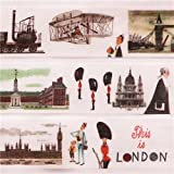 Nastro adesivo decorativo Washi mt Miroslav Sasek This is London