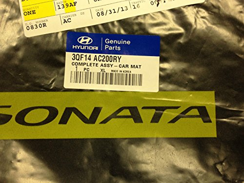 2011 TO 2014 Hyundai Sonata Factory OEM Carpeted Floor Mats - Complete Set of 4 - Oem Mats