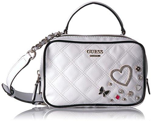 GUESS Darin Mini City Bag, White/Multi