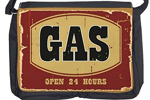 Borsa Tracolla Divertimento Benzina Stampato