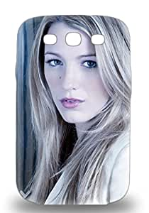 Galaxy S3 Hard 3D PC Case With Awesome Look Blake Lively American Female Gossip Girl Green Lantern The Sisterhood Of The Traveling Pants ( Custom Picture iPhone 6, iPhone 6 PLUS, iPhone 5, iPhone 5S, iPhone 5C, iPhone 4, iPhone 4S,Galaxy S6,Galaxy S5,Galaxy S4,Galaxy S3,Note 3,iPad Mini-Mini 2,iPad Air )
