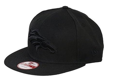 Amazon.com   New Era Denver Broncos 9Fifty Black   Black Logo ... a72543c37c6