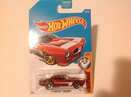 Hot Wheels Kmart Exclusive 2016 Muscle Mania 73 Pontiac Firebird Red  123 250