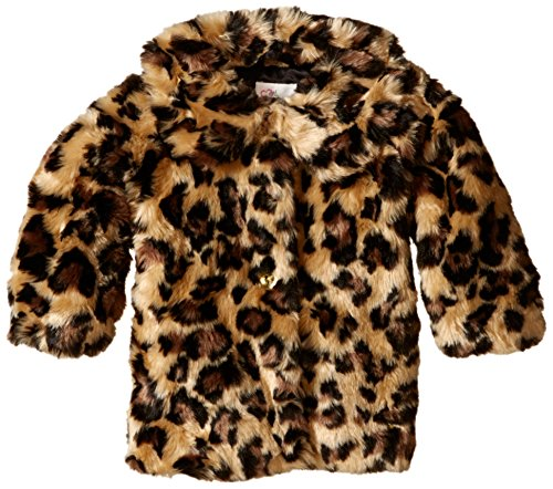 The Children's Place Baby-Girls Leopard Fur Coat, Leopard Fur, 12-18 Months