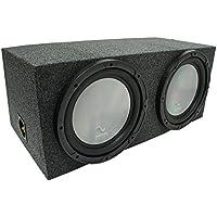 Universal Car Stereo Rearfire Sealed Dual 10 Harmony A102 Sub Box Enclosure