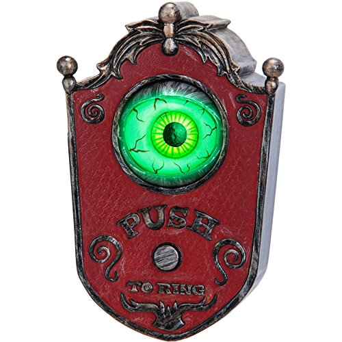 (Animated Doorbell Eyeball Halloween Decoration)