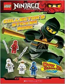100 Sticker cartocci Blue Ocean LEGO ® Ninjago ™ Legacy STICKER SERIE 2 x Display