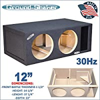 12 Dual Competition Ported Sub Box