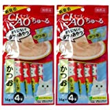 CIAO Chu ru Cat Food Lick Tuna (Kasuo) 2 Pack (4 pcs / pack)