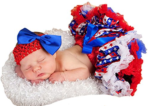 infant 4th of july dress - 5