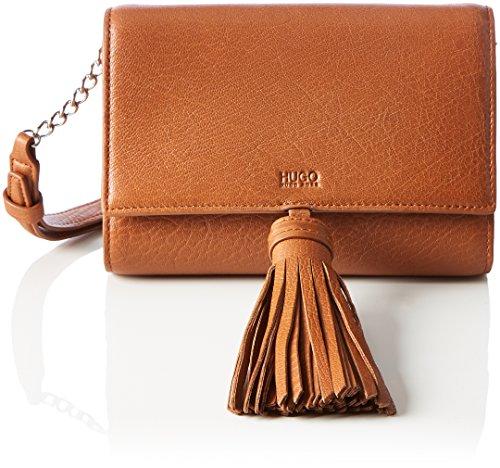 Hugo - Teresa-a 10202305 01, Sacs à bandoulière orange pour femmes (Orange foncé)