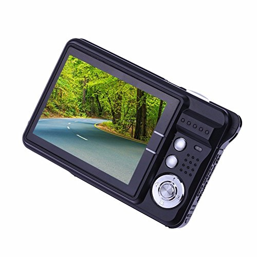Digital Camera, Fitiger 2.7inch Mini 18MP Anti-shake Camera TFT LCD Screen Compact Digital Camera Good for Newbie/ Students/ Family