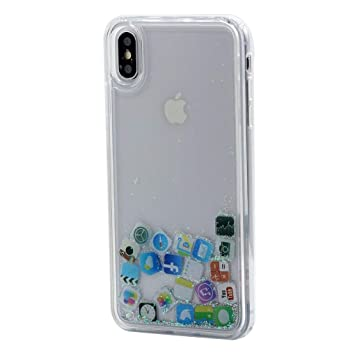 Keyihan iPhone 8/7 Funda Carcasa Creativo Líquido Fluido ...