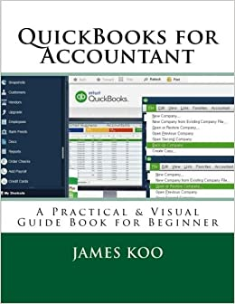 QuickBooks for Accountant: A Practical & Visual Guide Book for Beginner