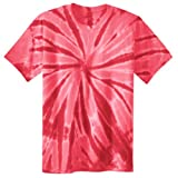 Port & Company PC147 Essential Tie-Dye Tee - Red - L