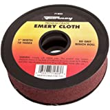 Forney 71806 Emery Cloth, 320-Grit, 1-Inch-by-10-Yard Bench Roll