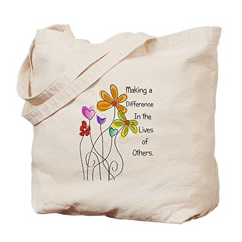 CafePress–cuidador–Gamuza de bolsa de lona bolsa, bolsa de la compra