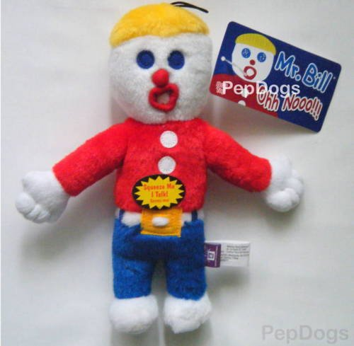 Mr. Bill Plush Dog Sound Toy Talking ''Ohh Noo''