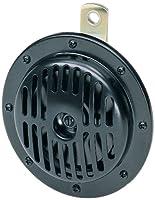 HELLA Low Tone Super Tone Horn DL50 Black 24V 310Hz 72W 114dBA 3CA004811-021