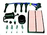 TBK Tune Up Kit Mazda Miata MX5 1990 to 1993 Includes Oil Filter Air Filter Fuel Filter PCV Valve and PCV Grommet NGK Spark Plugs and NGK Brand Ignition Wires