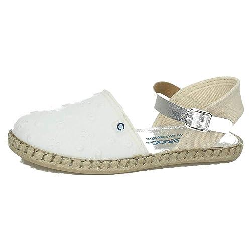 CONGUITOS JV121604 ESPARTEÑAS CONGUITOS NIÑA Zapatillas Blanco 24