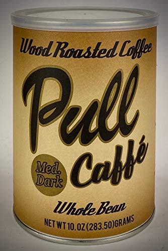 Pull Caffe Wood Roasted Coffee Med Dark 10 oz