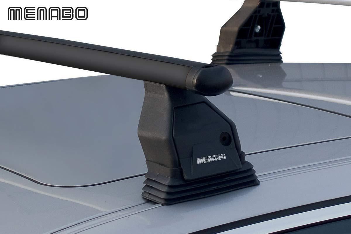 Sistema di Montaggio Fix Point con Barre Kit di Attacco SPECIFICO per Auto Barre PORTATUTTO Portapacchi da Tetto per Auto Senza RAILINGS