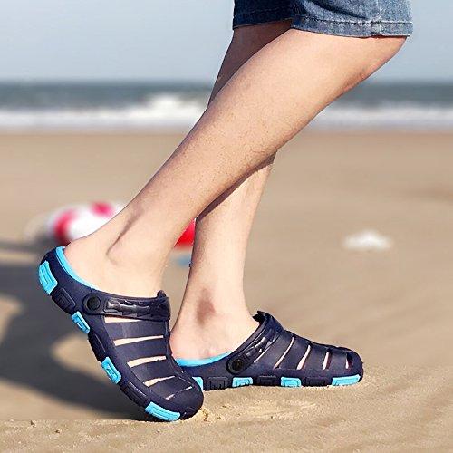 correnti 43 maschio blu maschio pantofole anti ciabattine Baotou estate scuro un Ciabatte fondo slittamento cool di morbide fankou 7x6EwA8qHc