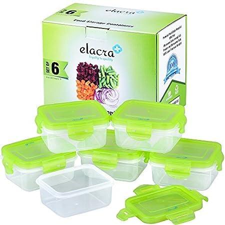 Elacra - Juego de recipientes herméticos sin BPA, Aptos para ...