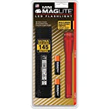 MAGLITE SP2203H 97-Lumen Mini MAGLITE(R) LED Flashlight (Red)