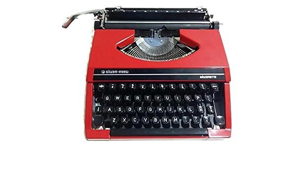 Maquina de escribir Silver Reed - Silverette: Amazon.es: Oficina y papelería