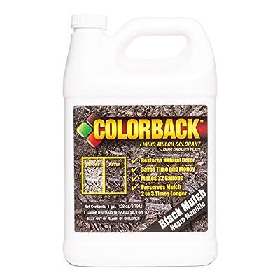 COLORBACK 12,800 Sq. Ft. Mulch Color Concentrate, 1-Gallon, Black
