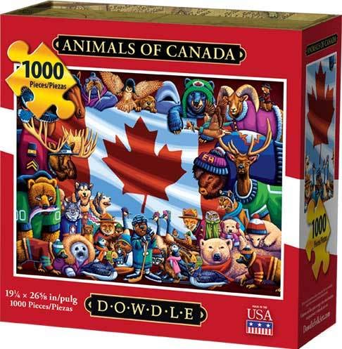 (Dowdle Jigsaw Puzzle - Animals of Canada - 1000 Piece)