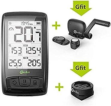 XIEXJ Sensor De Velocidad Moto GPS Ordenador Mini GPS Computadora De La Bicicleta A Prueba De Agua Bici De La Computadora De Cadencia Ant +: Amazon.es: Deportes y aire libre