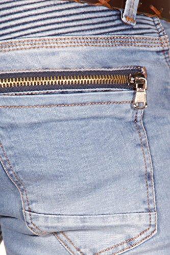 BRIGHT JEANS Jeans skinny fit (blau)