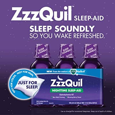 ZzzQuil - Just for Sleep
