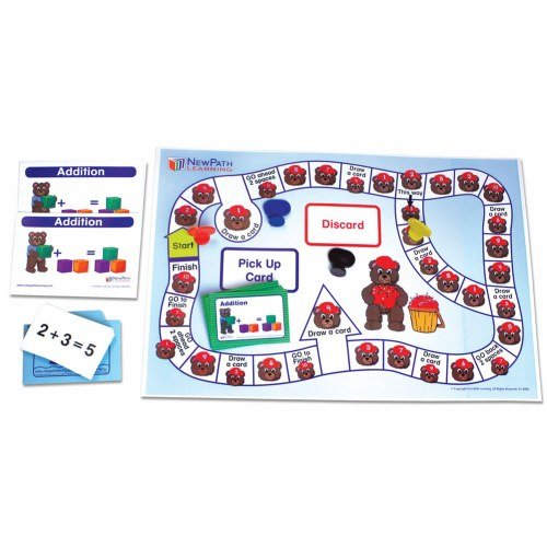Addition Center (NewPath Learning 23-0024 Number Operations - Addition Learning Center Game, Grade: Kindergarten to 1)