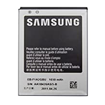 Replacement Battery for Samsung Galaxy S2 SII i9100 Lithium-Ion 1650mAh EB-F1A2GBU