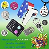 GOLTERS Golf Ball Marker and Strong Magnetic Golf
