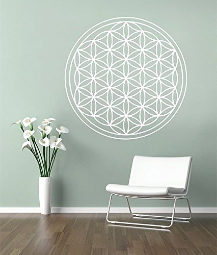 ik2913 Wall Decal Sticker Seed Flower of Life Living Room Bedroom