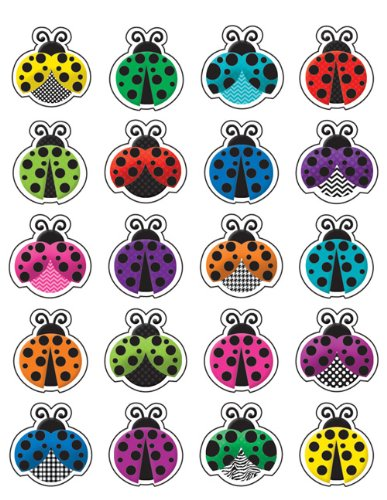 (Teacher Created Resources (5462) Colorful Ladybugs)