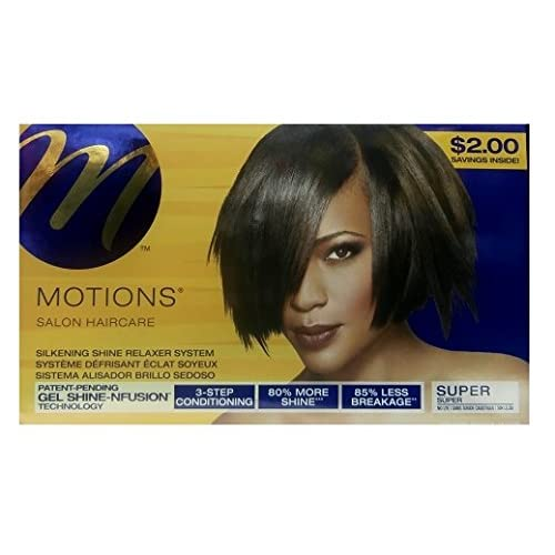 Relaxer/Lissage Crème motions Salon Haircare Relaxer Super
