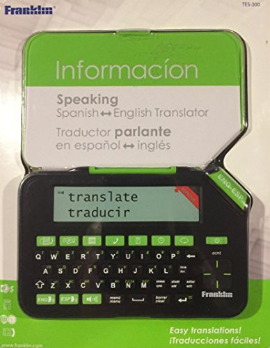 Franklin Speaking Spanish-English Translator (TES-300) by Franklin
