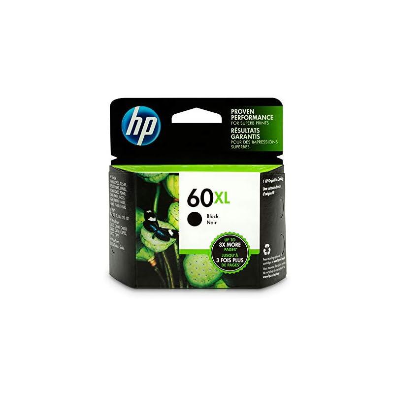 HP 60XL Black High Yield Original Ink Ca