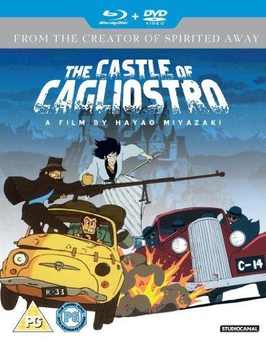 Le Château de Cagliostro / The Castle of Cagliostro ( Rupan sansei: Kariosutoro no shiro ) ( Lupin III: Castle of Cagliostro ) (Blu-Ray & DVD Combo) [ Origine UK, Sans Langue Francaise ] (Blu-Ray)