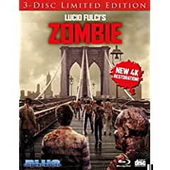 ZOMBIE 40th Anniversary Limited Edition debuts on Blu-ray Nov. 27 from Blue Underground and MVD